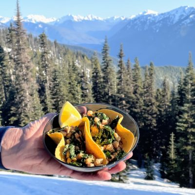 dairy free backcountry meals - trail tacos